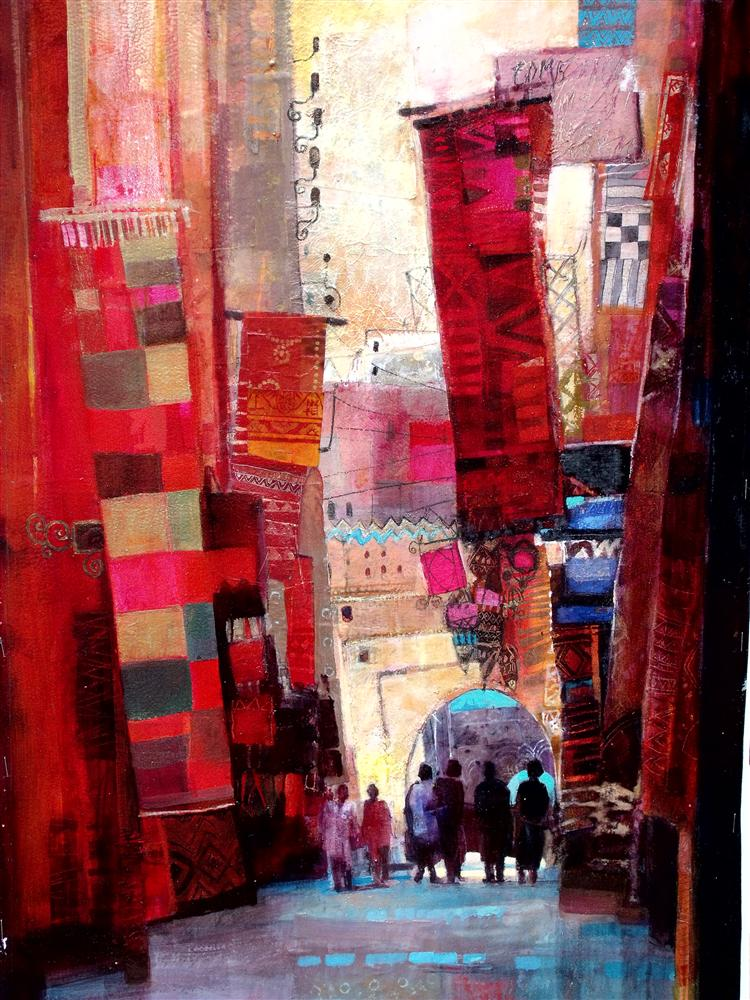 Afternoon in Marrakech 46 x 65 cms