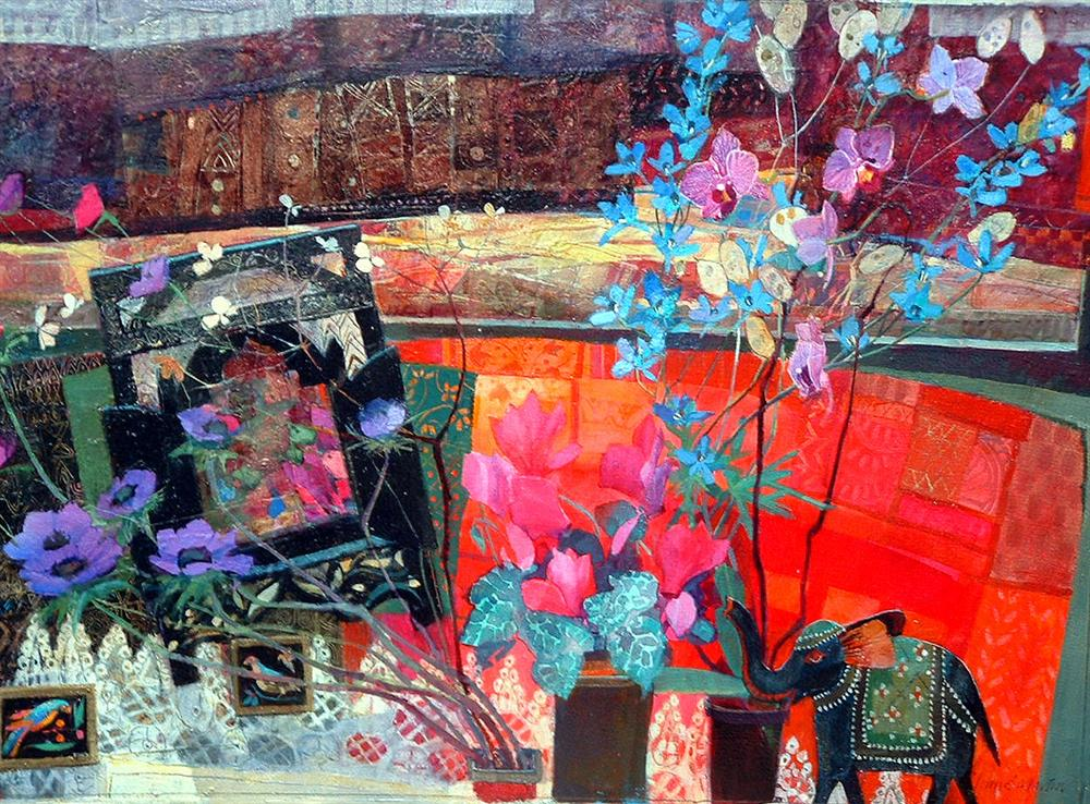 treasures from the orient 70 x 50 cms