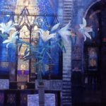Lilies in the Cathedral 70 x 100 cms