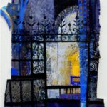 screen coventry cathedral 14 x 10 ins