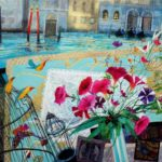 songbirds for serenissima 21 x 29.5 ins